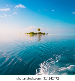 Beautiful amazing nature background. Tropical blue sun sea. Luxury holiday resort. Island atoll about coral reef. Fresh  freedom. Adventure day. Snorkeling. Coconut paradise. unique