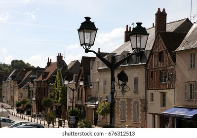Beautiful Amboise in Loire valley in France