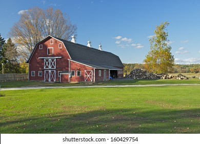 A beautiful american Farm, Connecticut, USA