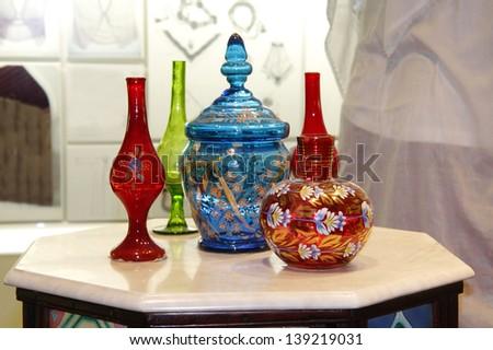 Beautiful Ancient Colourful Arabic Flower Vase Stock Photo (Edit Now on arabic door, arabic cross, arabic book, arabic watch, arabic gold, arabic shoes, arabic bottle, arabic calligraphy shapes, arabic pot, arabic teapot, arabic blue, arabic window, arabic heart, arabic bracelet, arabic rug, arabic jar, arabic plate, arabic floral, arabic hand paint, arabic pottery,