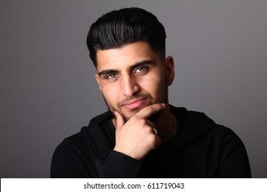 Beautiful arab man