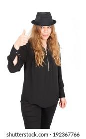 Beautiful arabic woman posing
