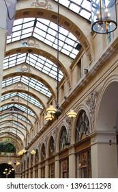 Beautiful arcade in Paris, France