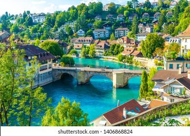 Beautiful Architecture at Bern, capital city of Switzerland