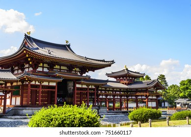 Beautiful Architecture Byodo-in Temple at Kyoto Japan