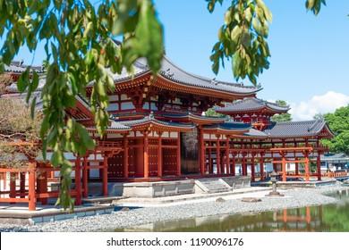 Beautiful Architecture Byodoin Temple,Uji, Kyoto Japan.