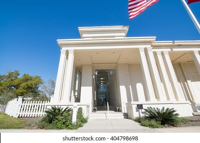 Beautiful architecture located on Beauvoir Grounds. The last home of the first and only President of the Confederate States of America. Located in Biloxi, Mississippi.