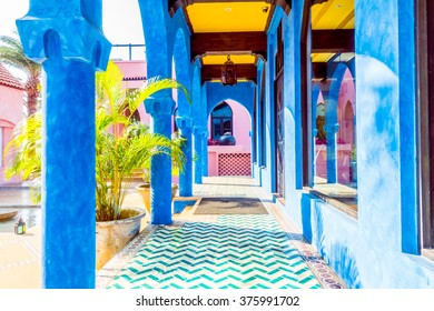 Beautiful Architecture morocco style - Vintage Filter