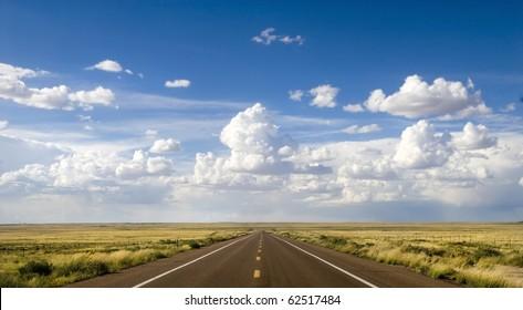Beautiful area along the historic Route 66 in Arizona