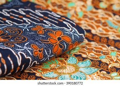 Beautiful art of Malaysian and Indonesian Batik