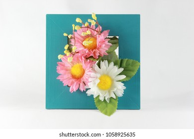 Beautiful artificial flowers decoration
