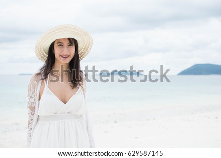coast woman Sunshine asian