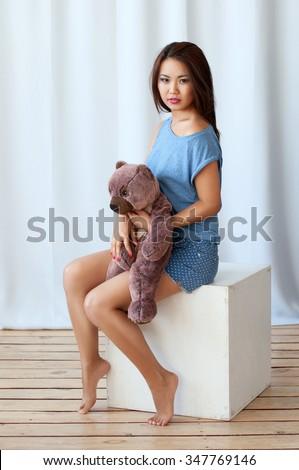 Handjob girls nude