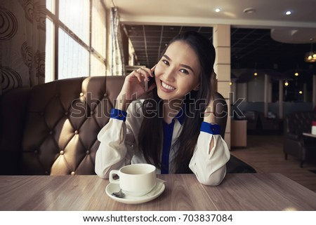Asian lady image on teacup