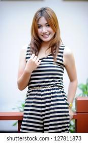 Beautiful asian girl