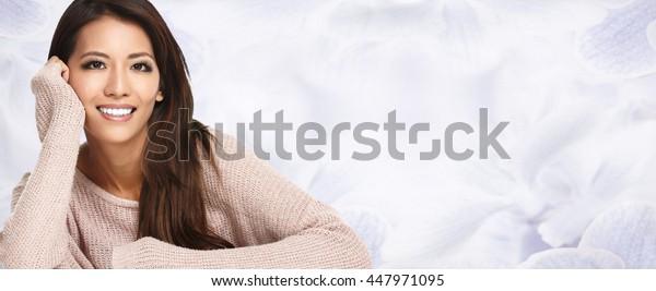Beautiful asian girl.