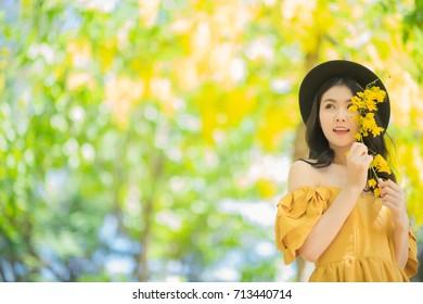 Asian golden shower