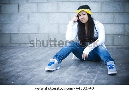 Asian hip hop style