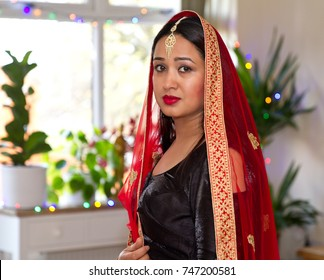 Beautiful asian girl in traditional dress