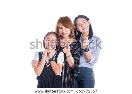 Hot lesbian strap-on action