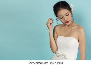 Beautiful Asian Oriental Bride