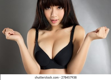 beautiful asian sexy underware girl model