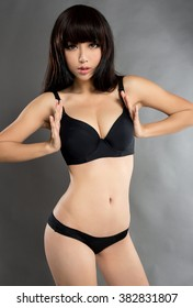 beautiful asian sexy underwear girl model