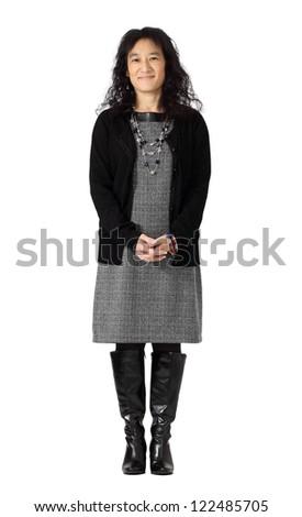 64266fd1256 Beautiful Asian Woman Dressy Business Attire Stock Photo (Edit Now ...