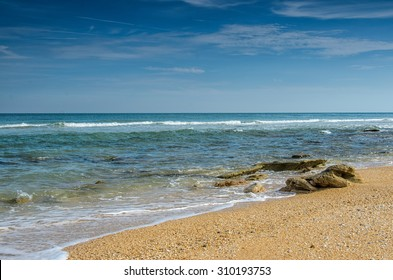 Beautiful Atlantic Ocean View with Blue and Green Water View