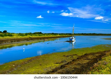 A beautiful August day and walk along the Solent way from Keyhaven in Hampshire