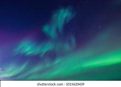 Beautiful Aurora light
