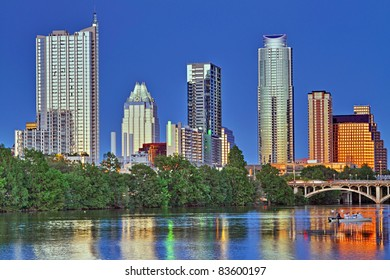 Beautiful Austin skyline