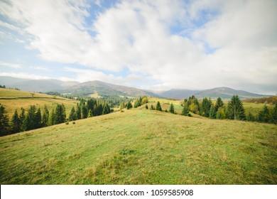 Beautiful autumn landscape - Shutterstock ID 1059585908