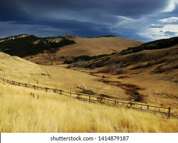 Beautiful autumn landscape, Montana, United States