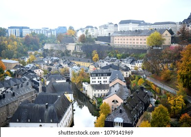 Beautiful autumn in Luxembourg.