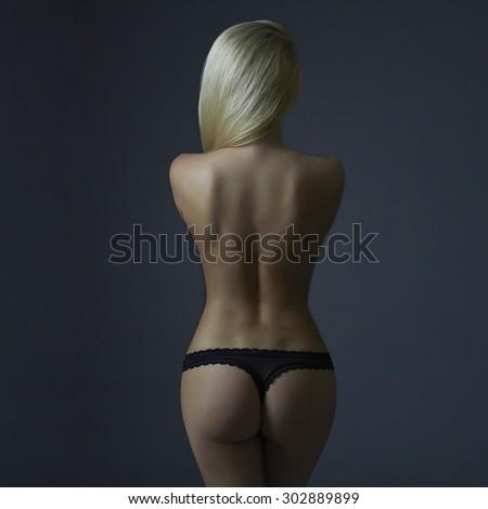 nude Backn women