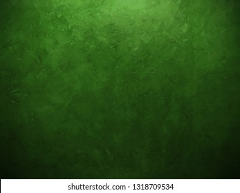 beautiful background green painting wall with brush stoke, gradient background painted wall with brush texture and beautiful bright nature green color lighting, dark fancy green moss backdrop