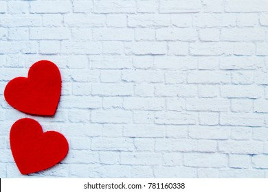 Beautiful background for Valentine Day. Red hearts for lovers. I love you so much! We will be together forever!