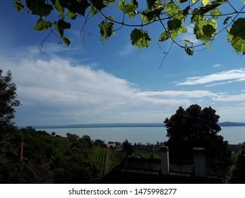 Beautiful Badacsony landscape next to Lake Balaton.