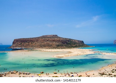 Beautiful Balos Lagoon, Crete, Greece