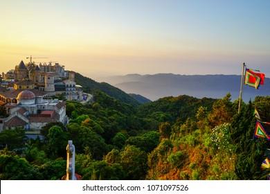Beautiful Bana hill in Vietnam