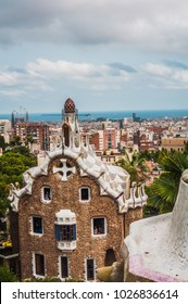 Beautiful Barcelona cityscape