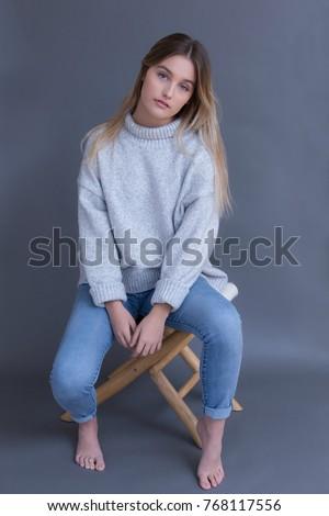 Busty sof sweater Mature
