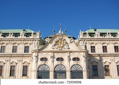 beautiful barok palace in Vienna