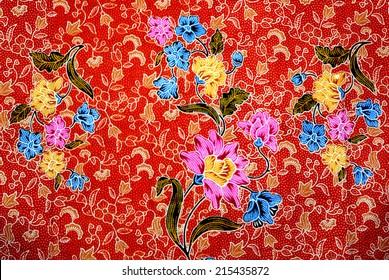 Beautiful batik patterns