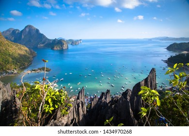 The beautiful bay of El Nido, Phillipines, palawan