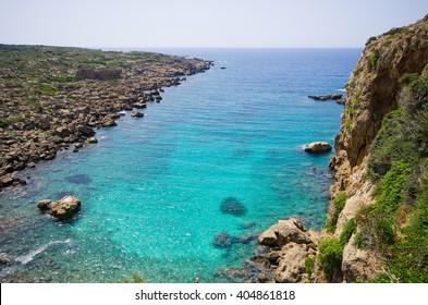 Beautiful bay on Crete island - Greece