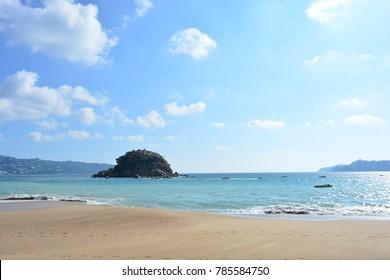 Beautiful beach of Acapulco, Mexico