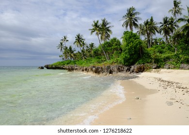 Beautiful beach in Camotes Island, Philippines