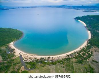 Beautiful beach in Da Nang, Vietnam